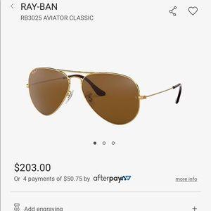 Rayban Aviators